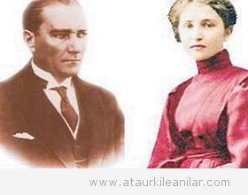 Atatürk'ün Madam Corinne'e yazdığı mektup