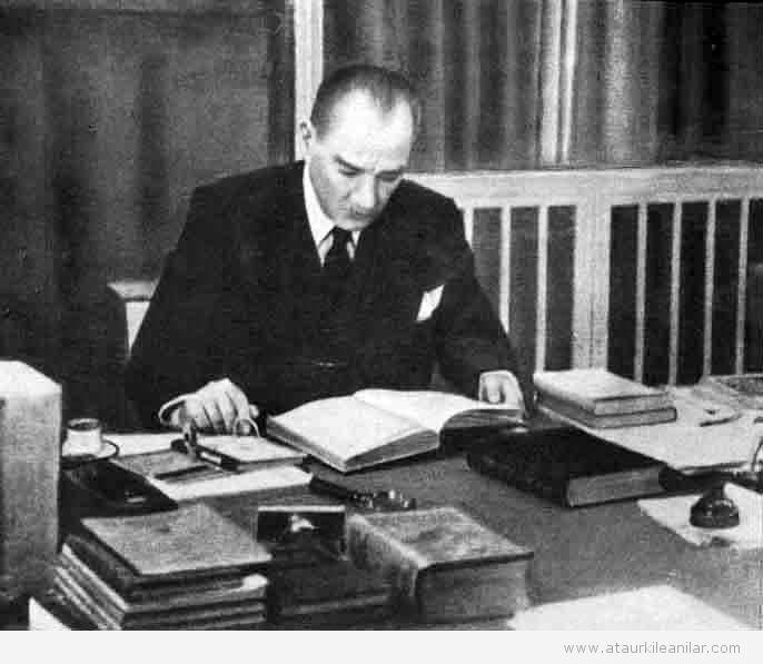 Atatürk planli çalisma anilari
