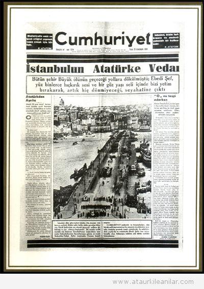 Tarihlerle Atatürk