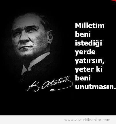 Atatürk'ün Sözleri (ALfabetik Sıraya Göre)