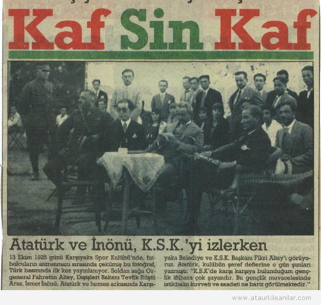 Atatürk ve Karşıyaka