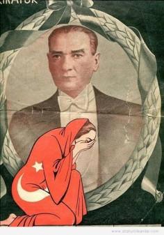 Atatürk'ün vefat ettiği hafta yayınlanan Sedat Simavi Karikatür Dergisi'nin kapağı